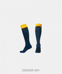 Knee High Double Welted Socks