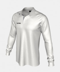 Mens QuickPLAY Long Sleeve Raglan Cricket Polo