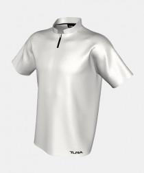 Mens QuickPLAY Short Sleeve Raglan Core Polo With Zip Placket & Stub Collar