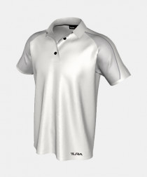 Mens QuickPLAY Solomon Short Sleeve Core Polo - With 2 Button Placket