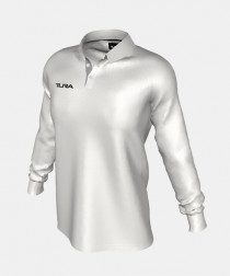 Youth QuickPLAY Long Raglan Sleeve Cricket Polo